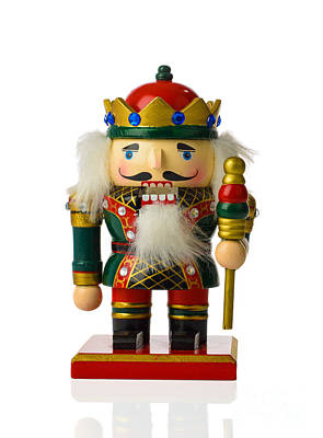 Cracker Photograph - The Nutcracker by Amanda And Christopher Elwell