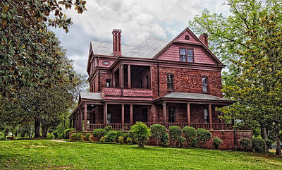 The Oaks - Home Of Booker T Washington Print by Mountain Dreams