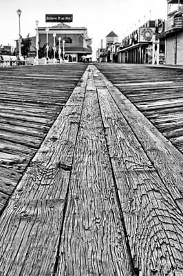The Ocean City Boardwalk Print by JC Findley