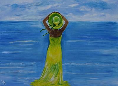 The Oceans Beauty Original by Leslie Allen