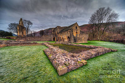 Valle Photograph - The Old Abbey by Adrian Evans