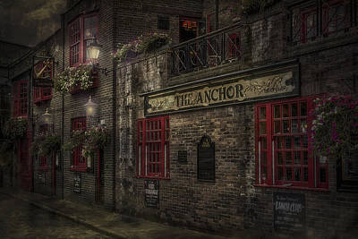 Old Houses Photograph - The Old Anchor Pub by Erik Brede