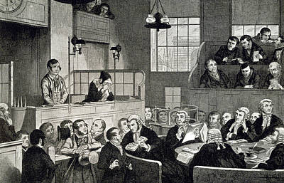 The Old Bailey Print by British Library