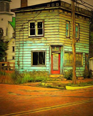 Mj Photograph - The Old Barber Shop by MJ Olsen