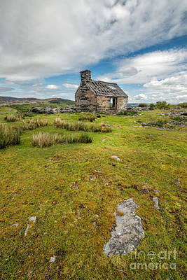 The Old Cottage Print by Adrian Evans