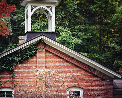 Brick Schools Photograph - The Old Erie Schoolhouse by Lisa Russo