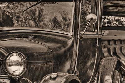 The Old Ford Print by JC Findley