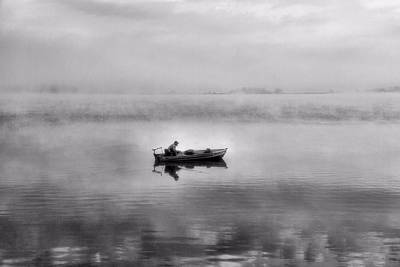 Book Title Photograph - The Old Man And The Sea by Dan Sproul