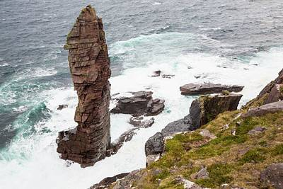 Grey Clouds Photograph - The Old Man Of Stoer by Ashley Cooper