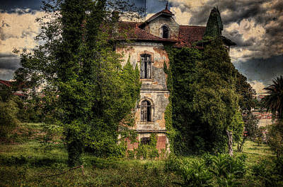 Ambience Photograph - The Old Manor by Marco Oliveira