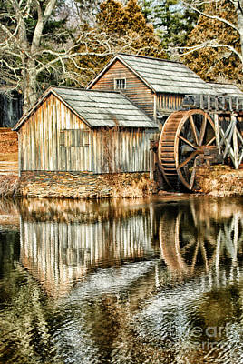 The Old Mill Print by Darren Fisher