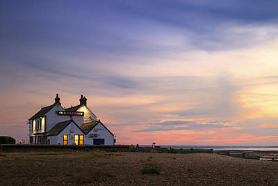 The Old Neptune - Whitstable  Print by Ian Hufton