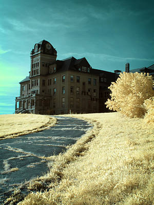 Surreal Photograph - The Old Odd Fellows Home Color by Luke Moore