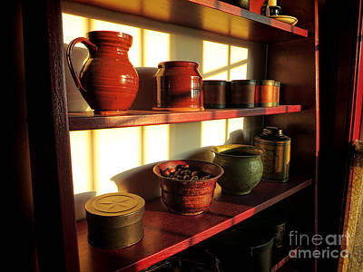 The Old Pantry Print by Olivier Le Queinec
