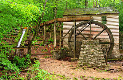Grist Mill Photograph - The Old Rice Mill by Gregory Ballos