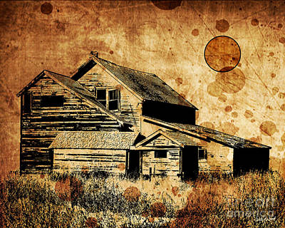 Judy Wood Digital Art - The Old Store by Judy Wood