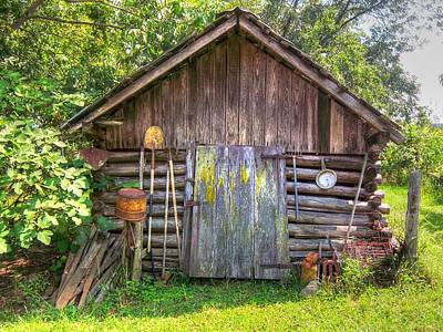 The Old Tool Shed II Print by Lanita Williams