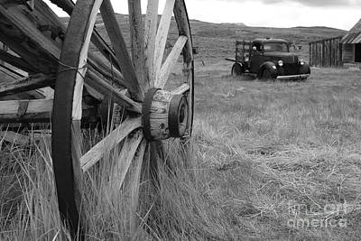 The Old West In Bodie California Print by Kelly Morvant
