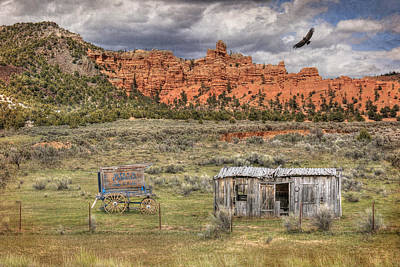 Dilapidated Digital Art - The Old West by Lori Deiter