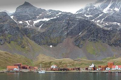 Artefact Photograph - The Old Whaling Station At Grytviken by Ashley Cooper