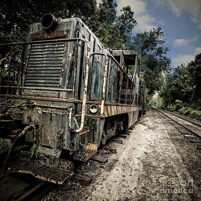 Relics Photograph - The Old Workhorse by Edward Fielding