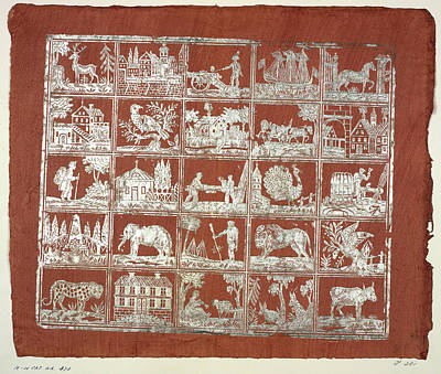 The Olga Hirsch Collection Of Decorated P Print by British Library