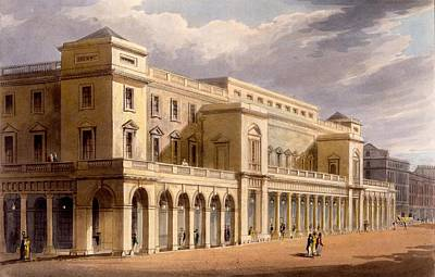 The Opera House, Formerly The Lyceum Print by Daniel Havell