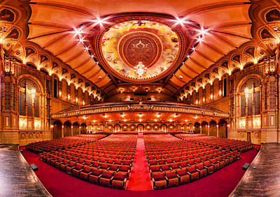 Actors Photograph - The Orpheum Theatre by Alexis Birkill