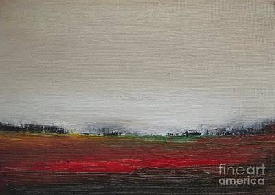 Prairie Sunset Painting - The Other Day by Vesna Antic