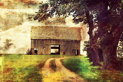 Pathway Digital Art - The Other Side by Julie Hamilton