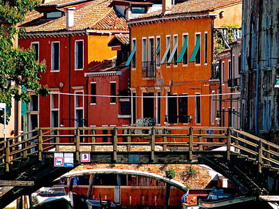 The Painters Eye In Venice Print by Ira Shander