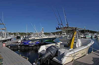The Pala In Sesuit Harbor On Cape Cod Print by Juergen Roth
