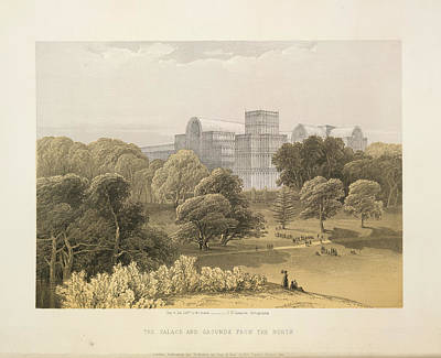 Hyde Park Photograph - The Palace And Grounds by British Library