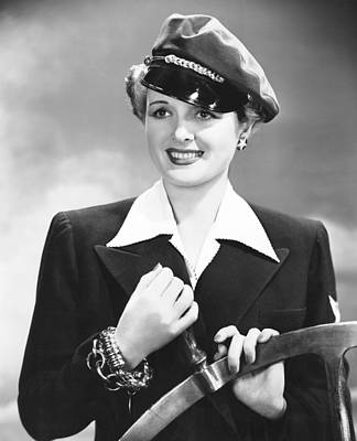 Sturges Photograph - The Palm Beach Story, Mary Astor, 1942 by Everett