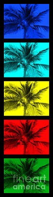 Seaside Heights Digital Art - The Palm Totem by Timothy Curtin
