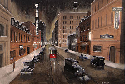The Pantages Original by Dave Rheaume