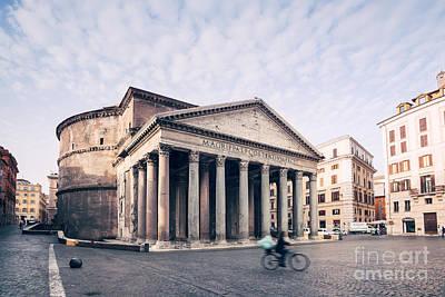 Roma Photograph - The Pantheon by Matteo Colombo