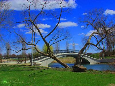 The Park Bridge Original by Michael Rucker