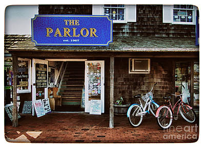 The Parlor On Lbi Print by Mark Miller