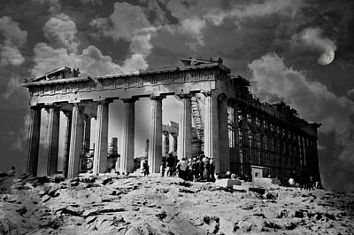 The Parthenon Print by Diana Angstadt