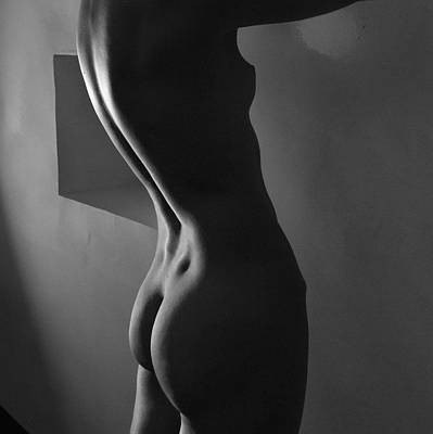 Bodyscape Photograph - The Past by Blue Muse Fine Art