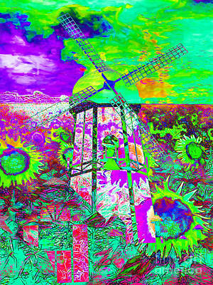 The Pastoral Dreamscape 20130730m135 Print by Wingsdomain Art and Photography