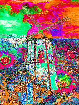 The Pastoral Dreamscape 20130730p95 Print by Wingsdomain Art and Photography