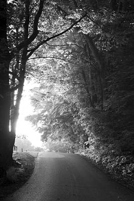 Black Country Photograph - The Path Ahead by Andrew Soundarajan