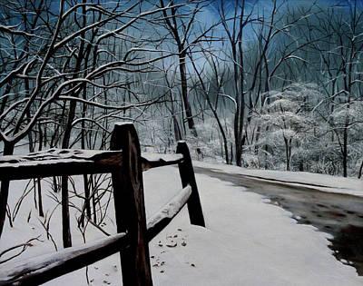 The Path Ahead Print by Daniel Carvalho