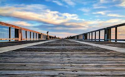 Navarre Beach Photograph - The Path In Navarre by JC Findley