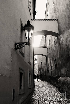 Gas Lamp Photograph - The Path by Ivy Ho