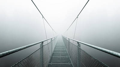 Perspective Photograph - The Path To Infinity by Max Zimmermann