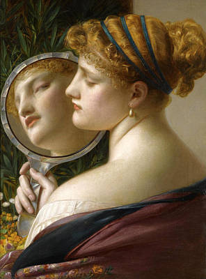 Frederick Sandys Painting - The Pearl by Frederick Sandys