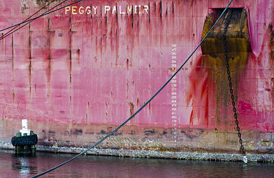 The Peggy Palmer Barge Print by Carolyn Marshall